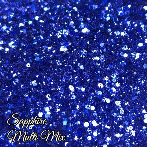 Sapphire Metallic Multi Mix - 10ml Pot