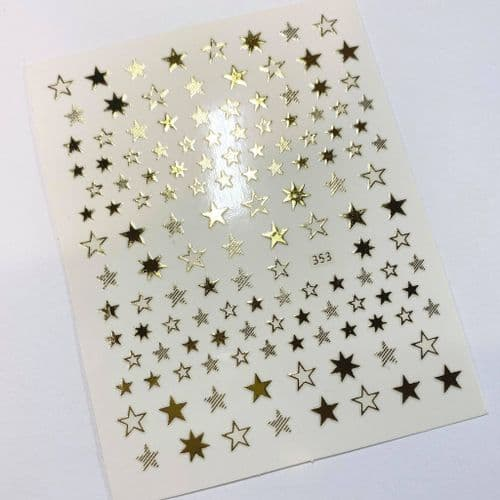 Star Stickers - Gold