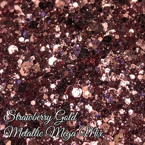 Strawberry Gold Mega Mix - 10ml Pot