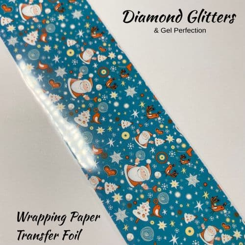 Wrapping Paper  Transfer Foil
