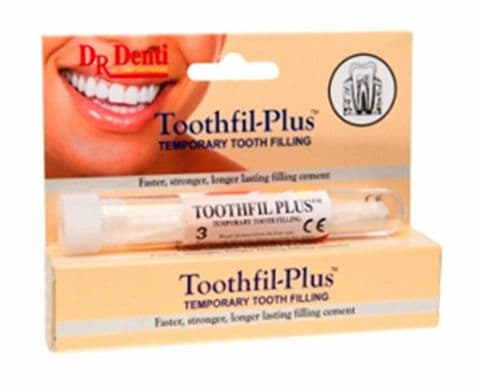DR DENTI Tooth-Fil PLUS tooth filling material 3 Capsules with applicator