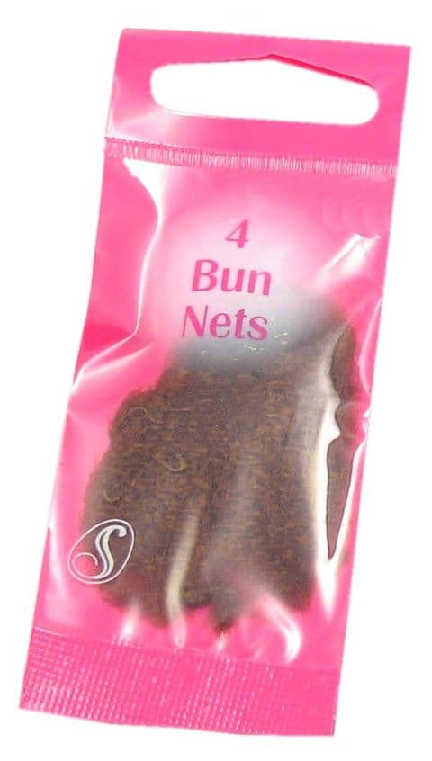 Serenade - 4 Bun Nets - 7 colours to choose from
