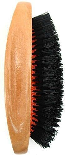 Serenade - Premium Polished Wood Gent's Military Hair Brush
