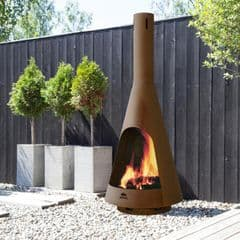 Jotul Froya outdoor fireplace