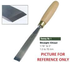 Refurbished Old Straight Chisels - Sweep 1