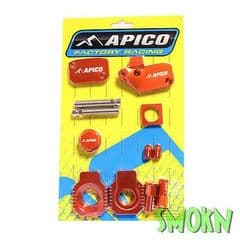 Apico Bling Pack fits KTM SX-F 250 EXC-F 06-10 Orange (with Hot Start)