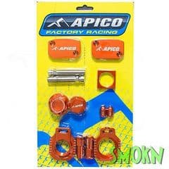 Apico Factory Bling Pack fits KTM SX 250 300 XC 14-21 SX-F 250 350 XC-F 14-22 OR