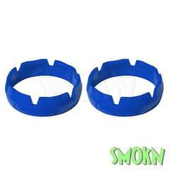 Apico Fork Protection Ring Sliders fit KTM 125 250 300 EXC 08-20 inc 6 days Blue