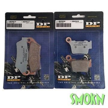 DP Pro MX SDP Front & Rear Brake Pads Sherco SE-R 250 300 2T 09-17 Sintered