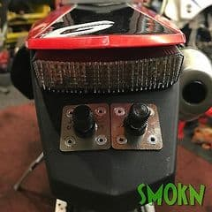Gas Gas EC 125 200 Universal Quick Release Rear Number Reg Plate Mounting Kit