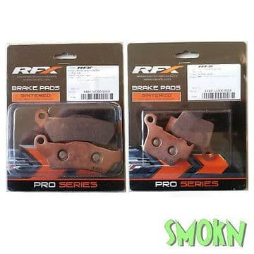 RFX Front & Rear Brake Pads fit Sherco SE-R & SEF-R 250 300 450 09-17 Sintered