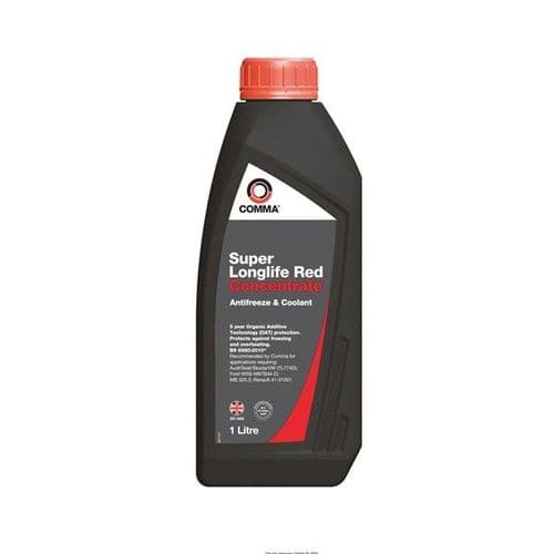 Comma Super Longlife Red Concentrate 1l