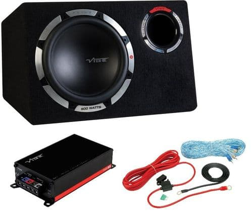 """Vibe Pulse 12"""" Subwoofer Bass Package RRP £189.99"""