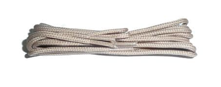 BRITISH QUALITY Beige Shoe and Boot Laces in THIN ROUND all lengths available