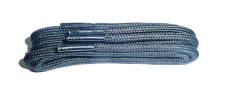 BRITISH QUALITY BLACK Shoe and Boot Laces in THICK CORD all lengths available