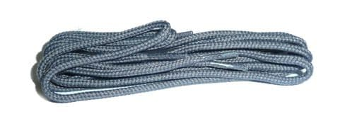 BRITISH QUALITY Grey Shoe and Boot Laces in THIN ROUND all lengths available
