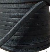 BRITISH QUALITY Leather Laces 100cm long sold in pairs