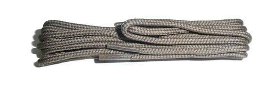 BRITISH QUALITY Taupe Shoe and Boot Laces in THIN ROUND all lengths available