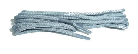 BRITISH Silver Grey Shoe and Boot Laces in THIN ROUND all lengths available