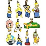 Homer Simpson Key Rings, Genuine Key Rings Choice of Designs