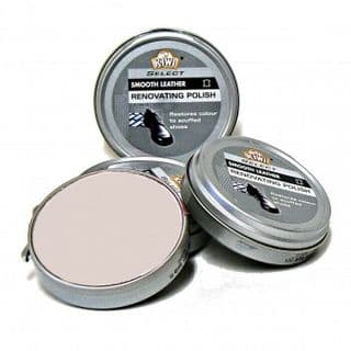 Kiwi Select Renovating Polish in BEIGE 50ml tins, REDUCED TO CLEAR