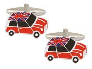 Dalaco 90-1438 Mini Union Jack Roof Cufflinks