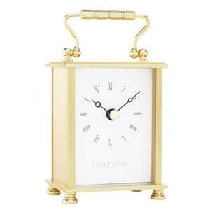 London Clock Company 02051 Solid Brass Carriage Clock