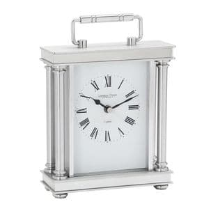 London Clock Company 03069 Silver Finish Carriage Clock