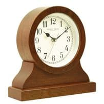 London Clock Company 03153 Wooden Keyhole Shape Mantel Clock