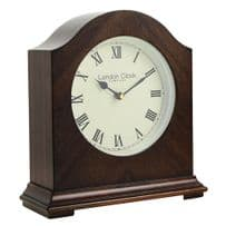 London Clock Company 03154 Break Arch Wooden Mantel Clock