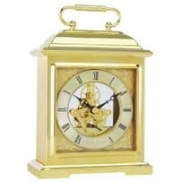 London Clock Company 04106 Gold Finish Classic Skeleton Mantel Clock