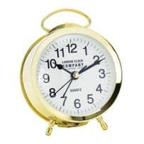 London Clock Company 04154 Retro Gold Alarm Clock