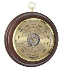 London Clock Company 28044 Solid Wood  Barometer