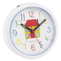 London Clock Company 32452 Childrens Play House Alarm Clock