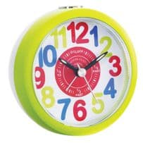 London Clock Company 32538 Childrens Green Tell Me The Time Alarm Clock