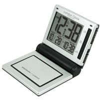London Clock Company 34281 Folding LCD Alarm Clock