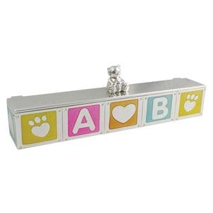 VICCI 53039 Silver Plated Baby Certificate Holder
