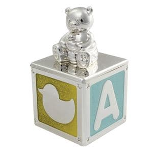 VICCI 53040 Silver-Plated Tooth And Hair Trinket Box