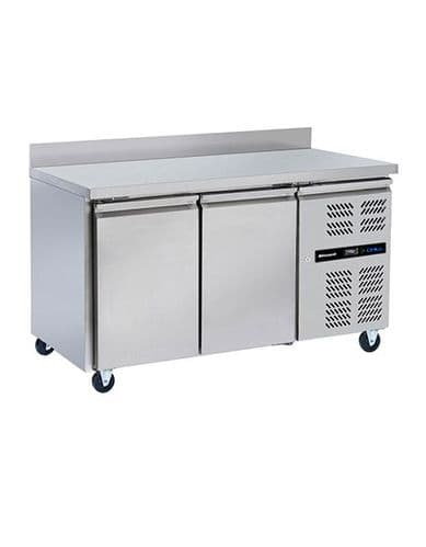 Blizzard HBC2 2 Door Gn1/1 Counter With Upstand 282L