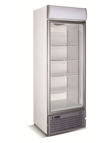 Crystal GDV400 Glass Door Freezer Display