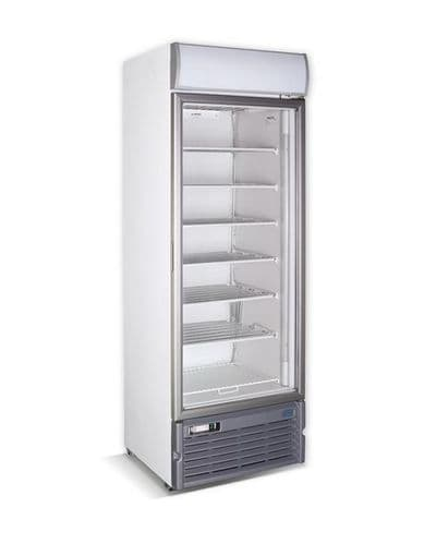 Crystal Glass Door Freezer Display GDS400