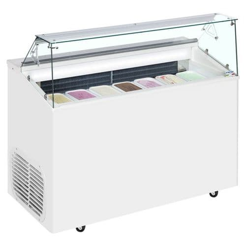 Framec Italy TOP7E Scoop Ice Cream Display