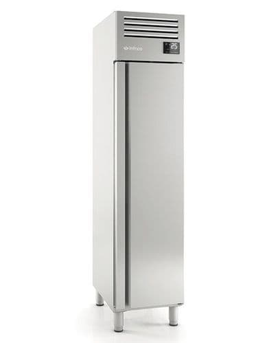 Infrico AGN301 Single Door Stainless Steel 1/1 Refrigerator 325L