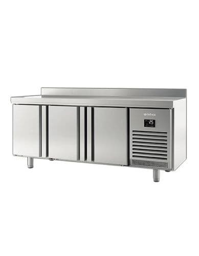 Infrico BMGN1960 3 Door Gn1/1 Counter With Upstand 460L
