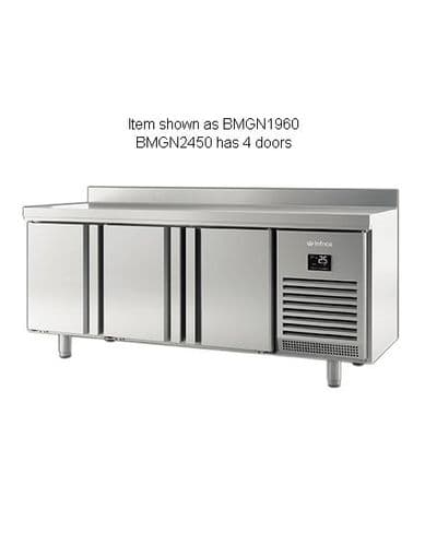 Infrico BMGN2450 4 Door Gn1/1 Counter With Upstand 625L