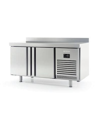 Infrico BMPP1500BT 2 Dr 600Mm Depth Freezer Counter With Upstand 245L