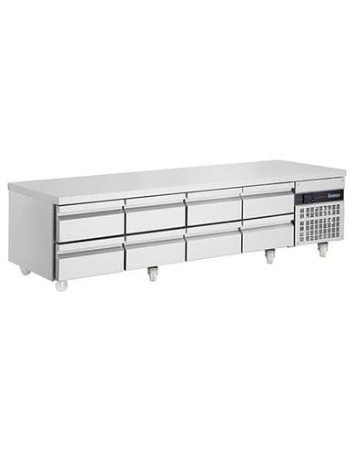 Inomak PWN3333-ECO 8 Drawer Low Height 620Mm Snack Counter 334L