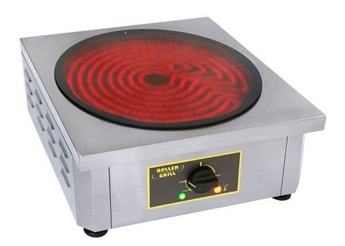 Roller Grill 400CVE Single plate - Infra Red Crepe Machines