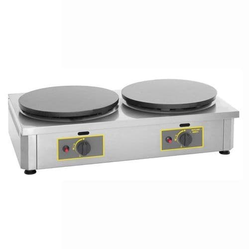 Roller Grill 400GDG Double Crepe Griddle Crepe Machines