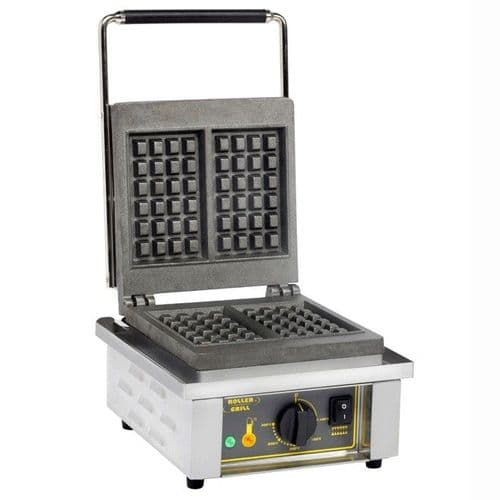 Roller Grill GES20 Single Liege Waffle Iron Waffle Irons